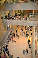 Public events are held in the lobby of Austin City Hall.