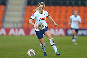 Tottenham Hotspur Women winger Gemma Davison (7) during the FA Women's Super League match between Tottenham Hotspur Women and Manchester City Women at the Hive, Barnet, United Kingdom on 5 January 2020.