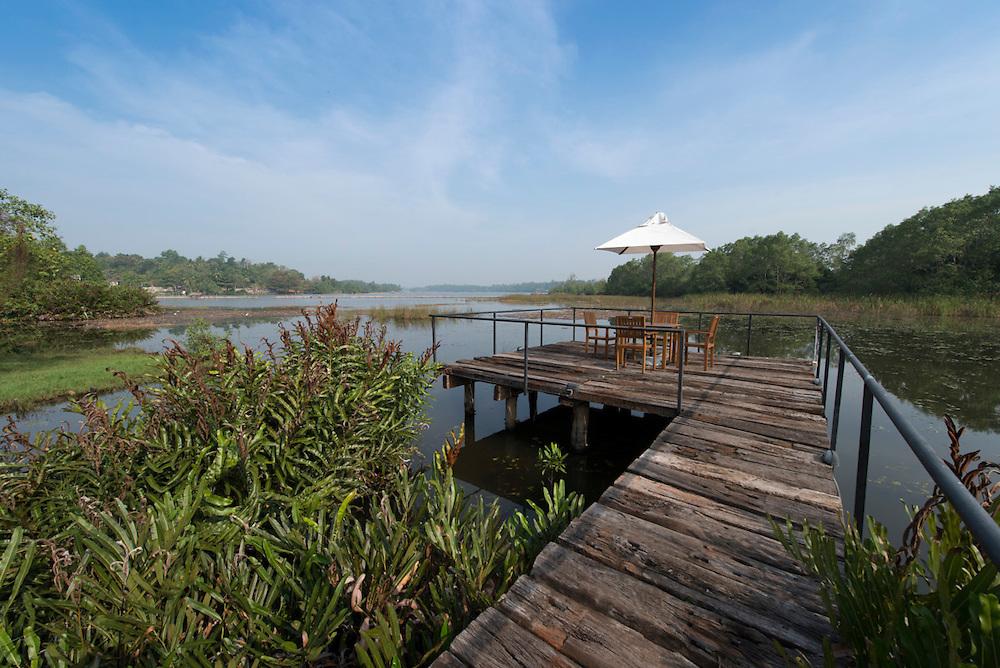 Villa 14, Ruskin Island.<br /> Architect: Waruna Gomis