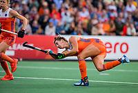 AMSTELVEEN - Frederique Matla (Ned)   tijdens de halve finale  Nederland-Duitsland (2-1) van de Pro League hockeywedstrijd dames. COPYRIGHT KOEN SUYK