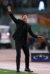 September 12, 2017 - Rome, Italy - Uefa Champions League: Group C Roma v Atletico de Madrid .Atletico de Madrid coach Diego Simeone at Olimpico Stadium in Rome, Italy on September 12, 2017. (Credit Image: © Matteo Ciambelli/NurPhoto via ZUMA Press)