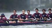 2004_Oxford University Trail Eights, Putney, London:ENGLAND. 14.12.04. Crew list. OUBC [right to left].Indians [Middlx].Robin Esmond-Frej, Jo Von Maltzahn, Peter Reed, Colin Smith, Robin Bourne-Taylor [President] Barney Williams. and cox Nick Brodie..Photo Peter Spurrier.email images@intersport-images.com. ...........[Mandatory Credit Peter Spurrier/ Intersport Images] Varsity:Boat Race, Rowing Course: River Thames, Championship course, Putney to Mortlake 4.25 Miles
