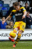 Mark Byrne of Newport County during the Sky Bet League 2 match at Kenilworth Road, Luton<br /> Picture by David Horn/Focus Images Ltd +44 7545 970036<br /> 20/12/2014
