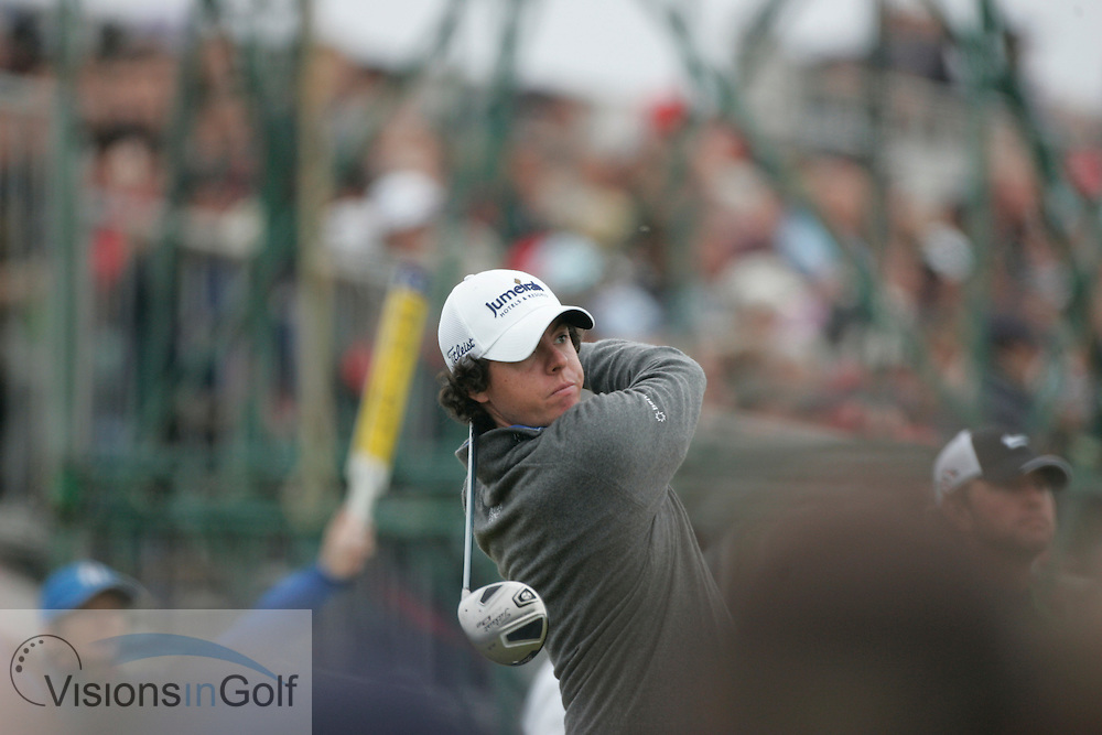 Rory McIlroy<br /> The Open Championship 2010, St Andrews GC, Scotland.<br /> Photo credit:  Mark Newcombe / www.visionsingolf.com