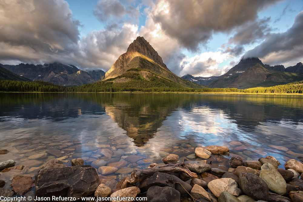 Swift Current Lake, Many Glaciers, Glacier National Park, MT
