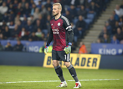 February 23, 2019 - Leicester, England, United Kingdom - Leicester City's Kasper Schmeichel.during English Premier League between Leicester City and Crystal Palace at King Power stadium , Leicester, England on 23 Feb 2019. (Credit Image: © Action Foto Sport/NurPhoto via ZUMA Press)
