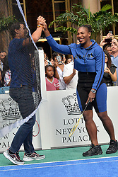 August 23, 2018 - New York, NY, USA - August 23, 2018  New York City..Rafael Nadal and Serena Williams attending the 4th Annual Palace Invitational at the Lotte Palace Hotel on August 23, 2018 in New York City. (Credit Image: © Kristin Callahan/Ace Pictures via ZUMA Press)