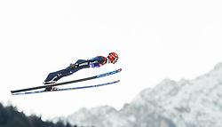 31.12.2013, Olympiaschanze, Garmisch Partenkirchen, GER, FIS Ski Sprung Weltcup, 62. Vierschanzentournee, Qualifikation, im Bild Andreas Wank (GER) // Andreas Wank (GER) during qualification Jump of 62nd Four Hills Tournament of FIS Ski Jumping World Cup at the Olympiaschanze, Garmisch Partenkirchen, Germany on 2013/12/31. EXPA Pictures © 2014, PhotoCredit: EXPA/ JFK