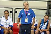 DESCRIZIONE : Ortona Italy Italia Eurobasket Women 2007 Bielorussia Italia Belarus Italy<br /> GIOCATORE : Gianni Lambruschi<br /> SQUADRA : Nazionale Italia<br /> EVENTO : Eurobasket Women 2007 Campionati Europei Donne 2007 <br /> GARA : Bielorussia Italia Belarus Italy<br /> DATA : 03/10/2007 <br /> CATEGORIA : delusione<br /> SPORT : Pallacanestro <br /> AUTORE : Agenzia Ciamillo-Castoria/E.Castoria<br /> Galleria : Eurobasket Women 2007 <br /> Fotonotizia : Ortona Italy Italia Eurobasket Women 2007 Bielorussia Italia Belarus Italy<br /> Predefinita :