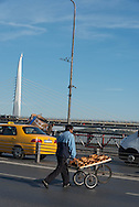 Turkey. istanbul. Ataturk bridge / pont Ataturk