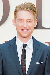 © Licensed to London News Pictures. 20/09/2017. London, UK. Actor DOMHNALL GLEESON attends the world film premiere of Goodbye Robin in Leicester Square. Photo credit: Ray Tang/LNP