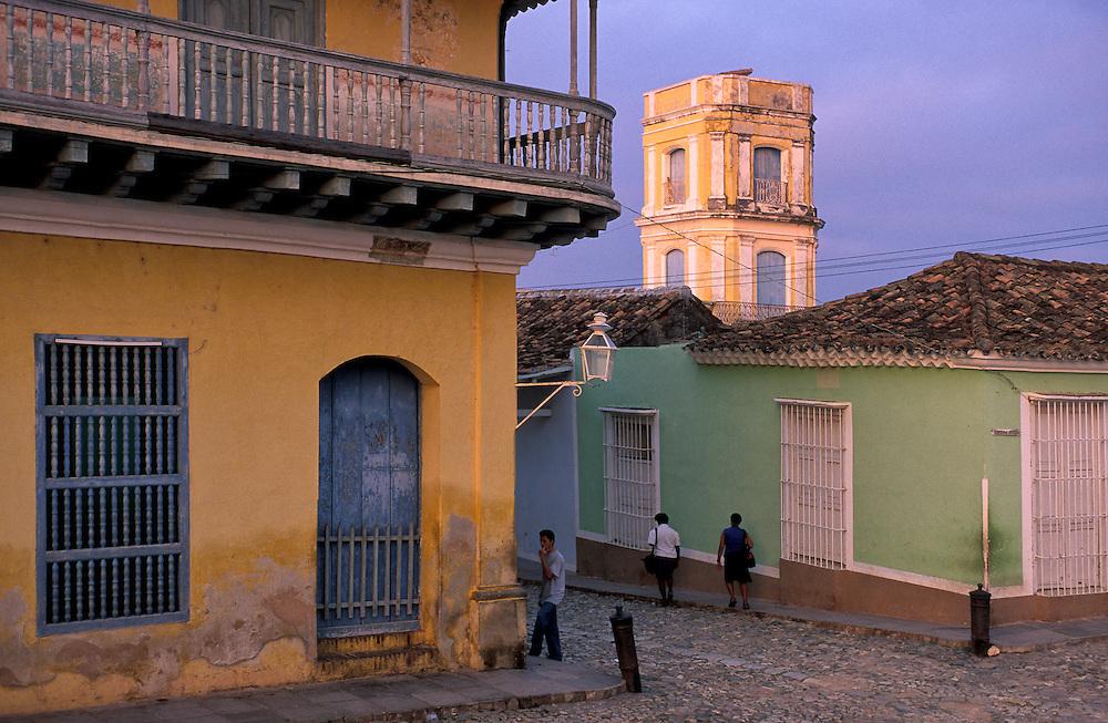 Colorful houses, Trinidad, Cuba, Caribbean