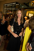 TRINNY WOODALL, Book launch party for  Sashenka, a romantic novel set in St Petersburg following a society girl who becomes involved with the Communist Party. By Simon Sebag-Montefiore. Asprey. New Bond St. London. 1 July 2008.  *** Local Caption *** -DO NOT ARCHIVE-© Copyright Photograph by Dafydd Jones. 248 Clapham Rd. London SW9 0PZ. Tel 0207 820 0771. www.dafjones.com.