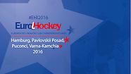 2016 EuroHockey Indoor Club Champions Trophy Men