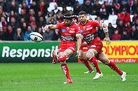 Matt Giteau - 19.04.2015 - Toulon / Leinster - 1/2Finale European Champions Cup -Marseille<br /> Photo : Andre Delon / Icon Sport