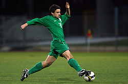 Marijo Mocic (20)  of Slovenia during Friendly match between U-21 National teams of Slovenia and Romania, on February 11, 2009, in Nova Gorica, Slovenia. (Photo by Vid Ponikvar / Sportida)