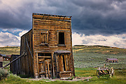 Swazey Hotel in the ghost town of Bodie, California