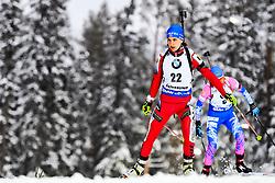 March 8, 2019 - –Stersund, Sweden - 190308 Rieke de Maeyer of Belgium competes in the Women's 7.5 KM sprint during the IBU World Championships Biathlon on March 8, 2019 in Östersund..Photo: Petter Arvidson / BILDBYRÃ…N / kod PA / 92247 (Credit Image: © Petter Arvidson/Bildbyran via ZUMA Press)