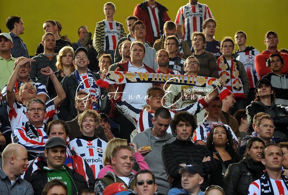 14-09-2008 VOETBAL:NAC BREDA:WILLEM II:NAC<br /> Supporters tijdens NAC - Willem II<br /> Foto: Geert van Erven