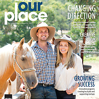 Abe and Melanie Myer for Our Place magazine