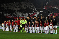 Atmosphere Teams Line Ups <br /> Roma 09-05-2018  Stadio Olimpico  <br /> Football Calcio Finale Coppa Italia / Italy's Cup Final 2017/2018 Juventus - Milan<br /> Foto Andrea Staccioli / Insidefoto