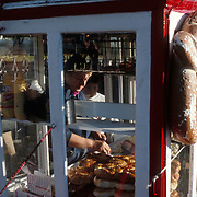 Pretzel Vendor, New York City