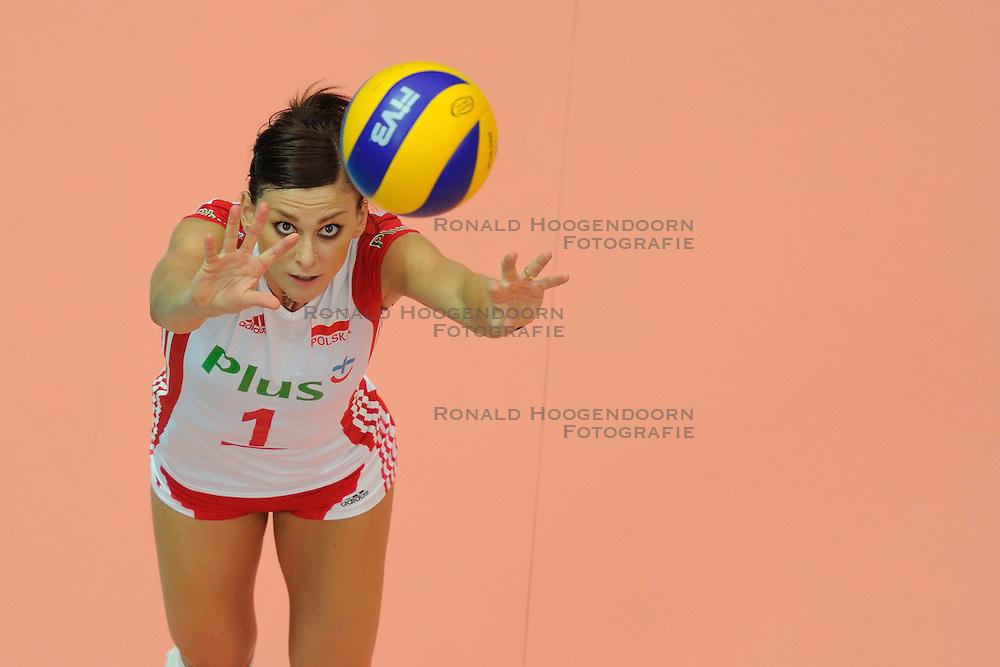 25-08-2010 VOLLEYBAL: WGP FINAL USA - POLAND: BEILUN NINGBO<br /> Katarzyna Skowronska-Dolata<br /> &copy;2010-WWW.FOTOHOOGENDOORN.NL