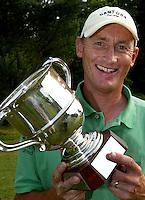 LEUSDEN -  Winnaar Joost Steenkamer.   Stern Open 2003 op de Hoge Kleij. COPYRIGHT KOEN SUYK