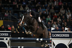 Whitaker John, (GBR), Ornellaia<br /> Grand Prix of Stuttgart <br /> Longines FEI World Cup<br /> Stuttgart - German Masters 2015<br /> © Hippo Foto - Stefan Lafrentz