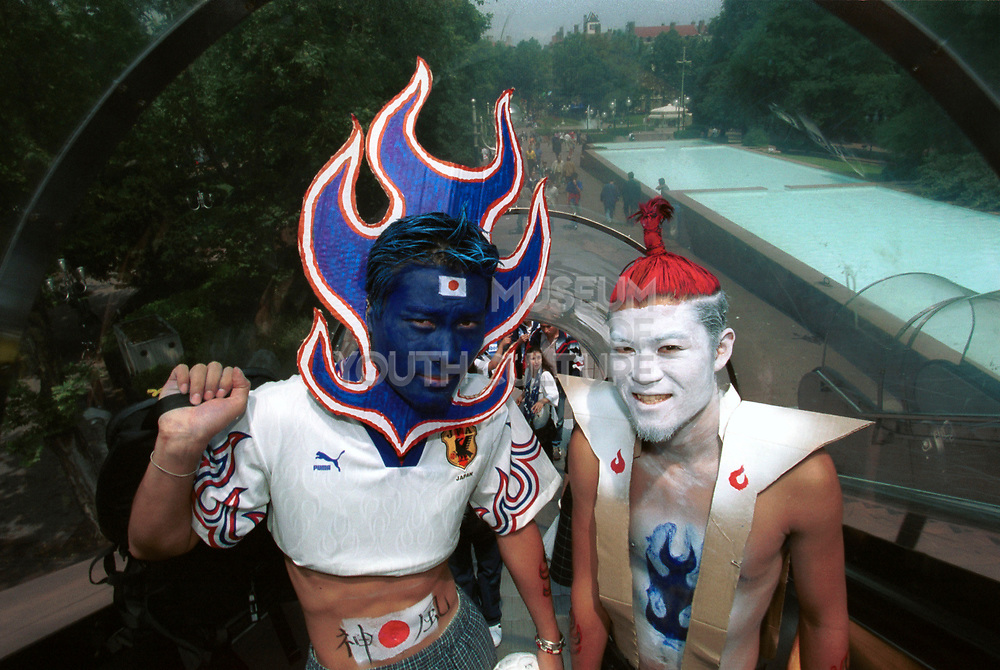 Japanese Football fans, World Cup, Japan, 2002