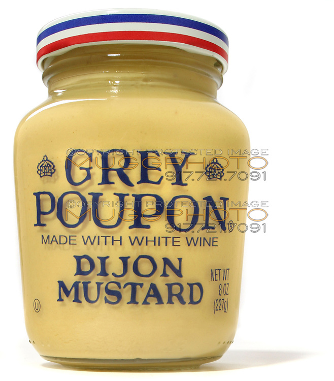 grey poupon dijon mustard in the jar