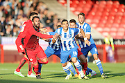 Tomer Hemed during the Pre-Season Friendly match between Crawley Town and Brighton and Hove Albion at the Checkatrade.com Stadium, Crawley, England on 22 July 2015.