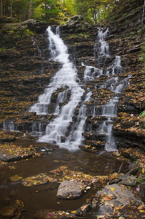 F.L. Ricketts Falls, Ricketts Glen State Park Pennsylvania