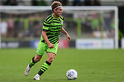 Forest Green Rovers George Williams(11) on the ball during the Pre-Season Friendly match between Forest Green Rovers and Bristol City at the New Lawn, Forest Green, United Kingdom on 24 July 2019.
