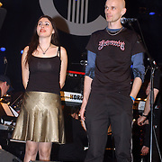 Harpengala 2003, Zilveren Harp winnaar, Within Temptation, Sharon den Adel en Robert Westerholt