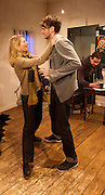 Coolatully <br /> by Fiona Doyle<br /> Papatango New Writing Prize Winner 2014 <br /> at the Finborough Theatre, London, Great Britain <br /> Press photocall<br /> 29th October 2014 <br /> directed by David Mercatali <br /> <br /> <br /> Kerr Logan as Kilian <br /> <br /> Yolanda Kettle as Eilish<br /> <br /> Eric Richard as Jimmy <br /> <br /> Charles de Bromhead as Paudie<br /> <br /> Photograph by Elliott Franks <br /> Image licensed to Elliott Franks Photography Services