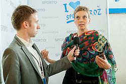 Pauline Bohnec of Global Hospitality Planning Services at sports marketing and sponsorship conference Sporto 2014, on November 20, 2014 in Hotel Slovenija, Congress centre, Portoroz / Portorose, Slovenia. Photo by Vid Ponikvar / Sportida