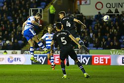 Goal, Yann Kermorgant of Reading scores, Reading 2-0 Blackburn Rovers - Mandatory by-line: Jason Brown/JMP - 04/04/2017 - FOOTBALL - Madejski Stadium - Reading, England - Reading v Blackburn Rovers - Sky Bet Championship