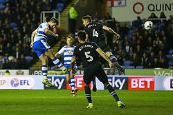 Goal, Yann Kermorgant of Reading scores, Reading 2-0 Blackburn Rovers - Mandatory by-line: Jason Brown/JMP - 04/04/2017 - FOOTBALL - Madejski Stadium - Reading, England - Reading v Blackburn Rovers - Sky Bet Championship