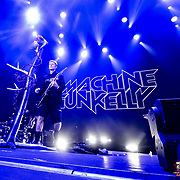 Machine Gun Kelly performs at the Fall Out Boy Mania Tour at the Don Haskins Center Tuesday Sept 25, 2018 in El Paso Texas, Andres Acosta   El Paso Herald-Post