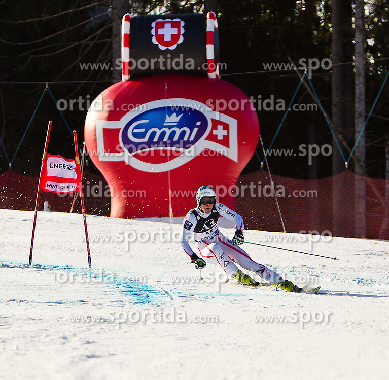 06.02.2011, Hannes-Trinkl-Strecke, Hinterstoder, AUT, FIS World Cup Ski Alpin, Men, Hinterstoder, Riesentorlauf, im Bild Vincent Kriechmayr (AUT) // Vincent Kriechmayr (AUT) during FIS World Cup Ski Alpin, Men, Giant Slalom in Hinterstoder, Austria, February 06, 2011, EXPA Pictures © 2011, PhotoCredit: EXPA/ J. Feichter
