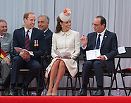KATE, Will & European Royals Attend WW1 Commemoration 2