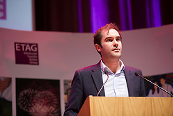 Adam McVey, leader of Edinburgh City Council addressing the Edinburgh Tourism Action Group conference at the Assembly Rooms. Pic: Terry Murden@edinburghelitemedia