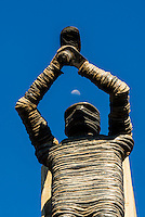 The People Shall Share in the Country's Wealth, one of The Ten Pillars of the Freedom Charter, Walter Sisulu Square of Dedication, Soweto, Johannesburg, South Africa.