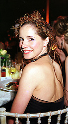 Ballerina DARCEY BUSSELL at a fashion show in London on 2nd April 2000.OCN 135<br /> © Desmond O'Neill Features:- 020 8971 9600<br />    10 Victoria Mews, London.  SW18 3PY  photos@donfeatures.com   www.donfeatures.com<br /> MINIMUM REPRODUCTION FEE AS AGREED.<br /> PHOTOGRAPH BY DOMINIC O'NEILL