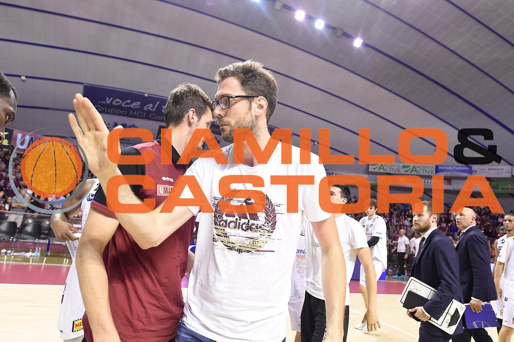 Baldi Rossi Filippo<br /> Umana Reyer Venezia - Dolomiti Energia Trento<br /> Lega Basket Serie A 2016-2017<br /> Playoff Finale Gara 1<br /> Venezia 10/06/2017<br /> Foto Ciamillo-Castoria