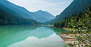 Diablo Lake, Ross Lake National Recreation Area, Washington, USA.