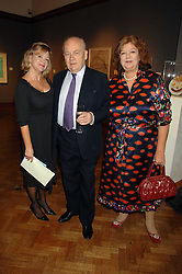 Left to right, KAY SAATCHI, JEREMY PILCHER and MEREDITH ETHERINGTON-SMITH at an auction in aid of The Parkinson's Appeal for Deep Brain Stimulation 'Meeting of Minds' held at Christie's, King Street, London SW1 followed by a dinner at St.John, 26 St.John Street, London on 16th October 2007.<br /><br />NON EXCLUSIVE - WORLD RIGHTS