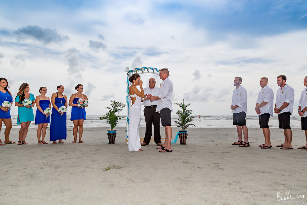 Amanda and Scott Grack wedding at North Beach Plantation, Myrtle Beach, SC 8/5/2016