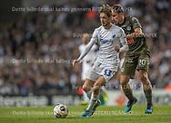 Rasmus Falk (FC København) følges af Olivier Custodio (FC Lugano) under kampen i UEFA Europa League mellem FC København og FC Lugano den 19. september 2019 i Telia Parken (Foto: Claus Birch / Ritzau Scanpix).